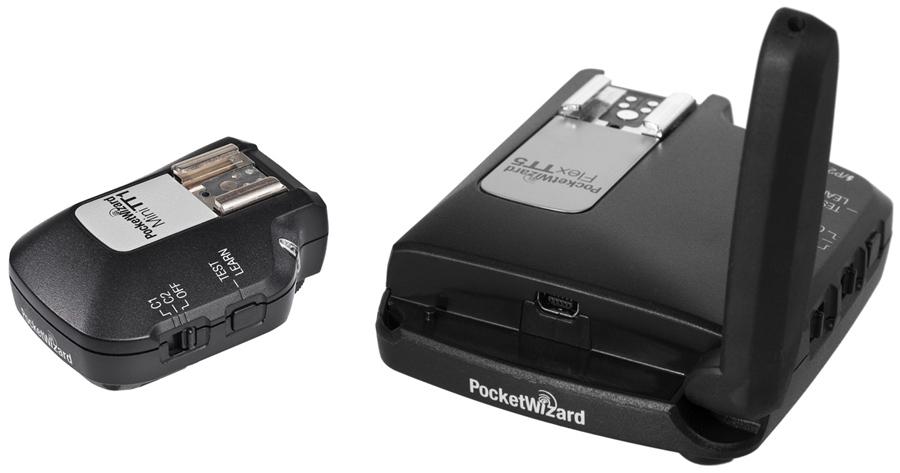 Pocket Wizard MiniTT-1 en FlexTT-5