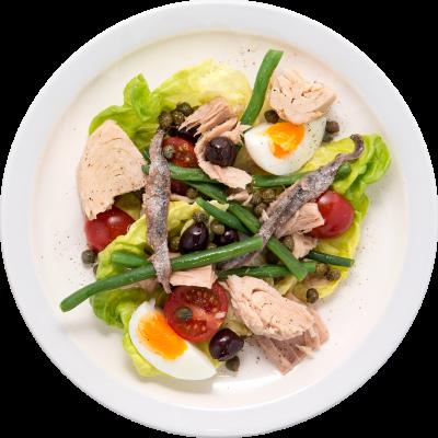 Salade Nicoise | Food fotografie Bert Bulder Amsterdam