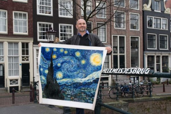 van gogh studios starry night competition Van Gogh oil on canvas reproductions